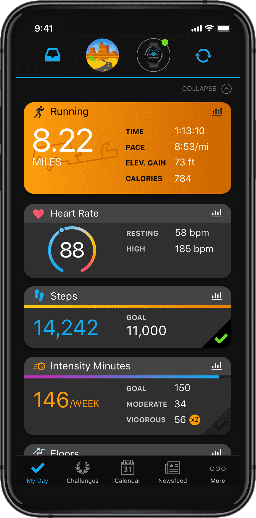 Garmin Connect Mobile App >> Garmin Connect Free Online Fitness Community